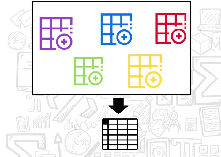 Juntar planilhas Excel em uma só