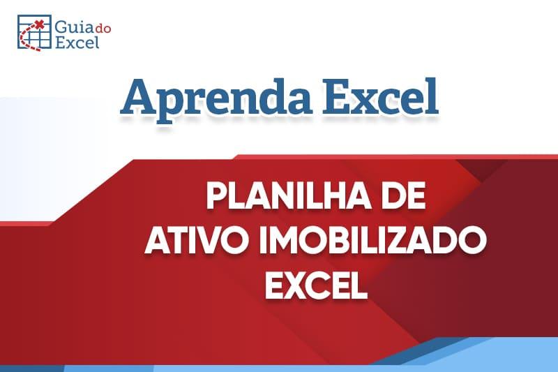 Planilha de Ativo imobilizado Excel