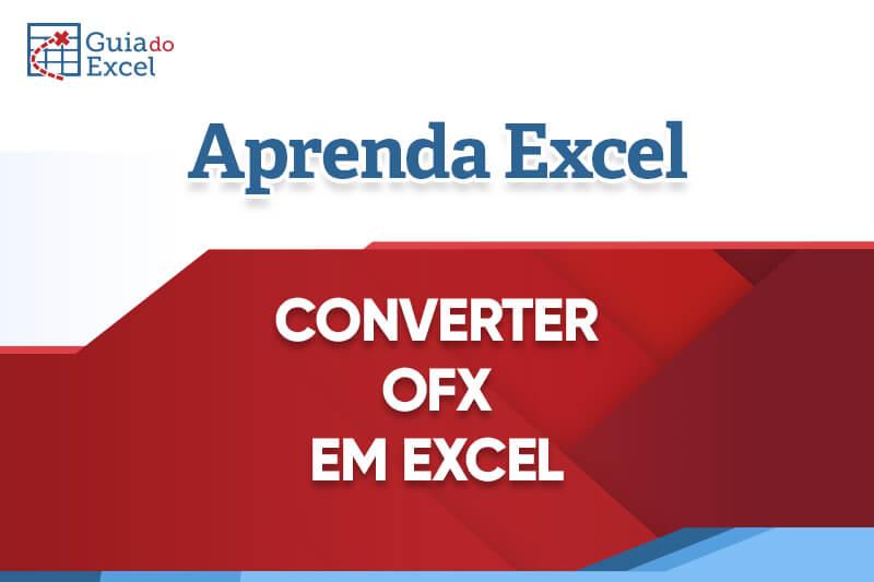 OFX para Excel