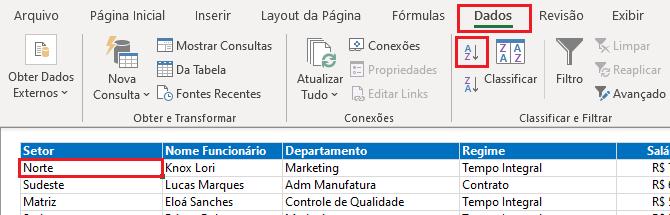 Como agrupar dados no Excel - Estrutura de Tópicos 2